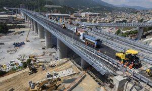 Genova Bridge Pavement